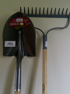 Shovel and Rake