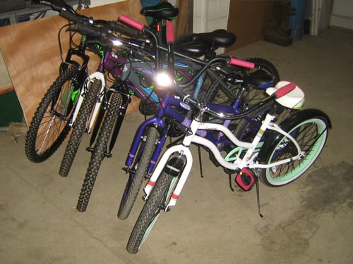 5+ New Mountain Bikes