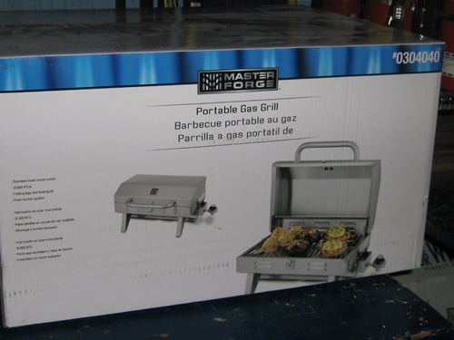 Stainless Steel Propane BBQ