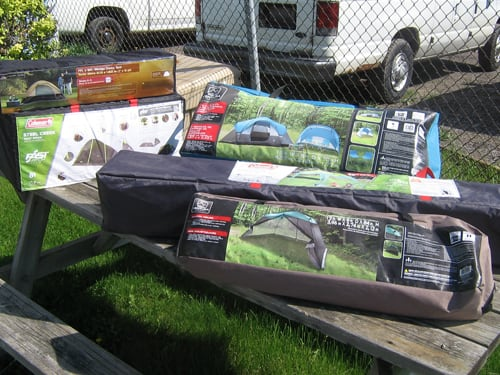 Tents, Shelters & Camping Gear