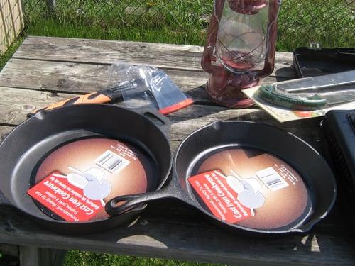 Cast Iron Cookware, axe , etc