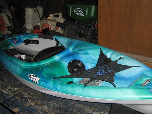 Pelican Odyssey Premium Deluxe kayak